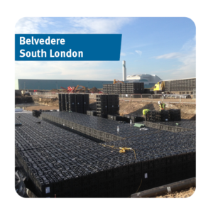 Stormwater Attenuation Tank installed in Belvedere, South East London