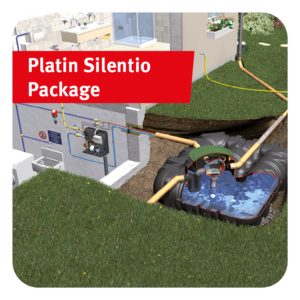 Platin Silentio Rainwater Harvesting Package