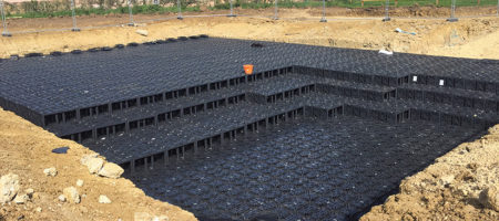 What is a stormwater attenuation tank?