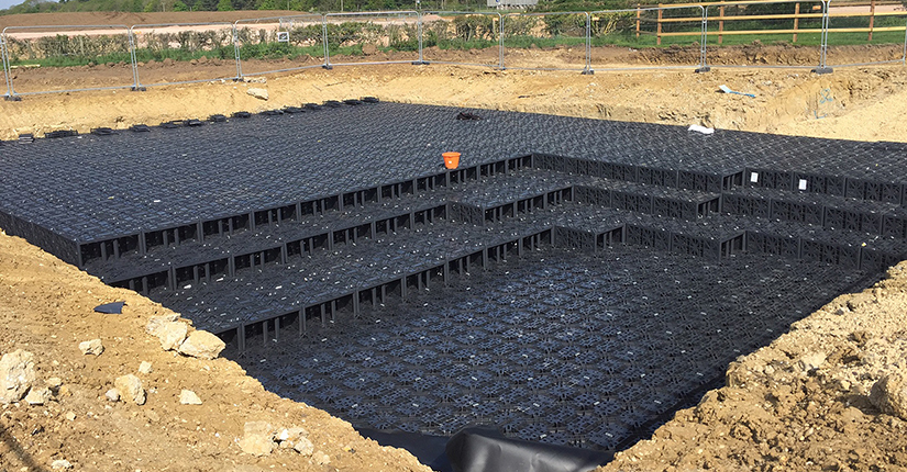 EcoBloc Flex Stormwater Attenuation Tank