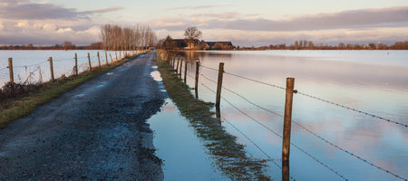What are the different types of flood defence systems in the UK?